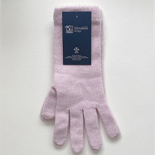Women's Cashmere Gloves in Pink