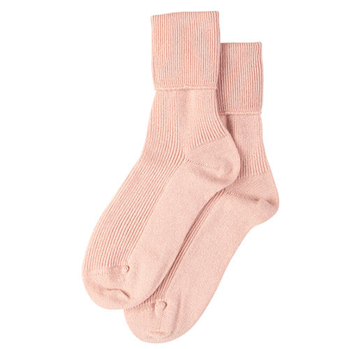Women's Cashmere Socks in Orchid