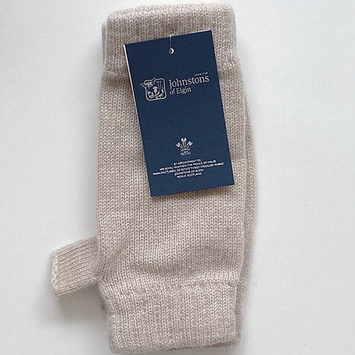 Cashmere Wrist Warmers in Natural