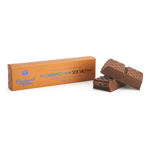 Milk Caramel Praline Sea Salt Bar