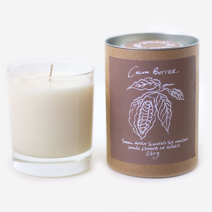 Cocoa Butter Scented Soy Candle