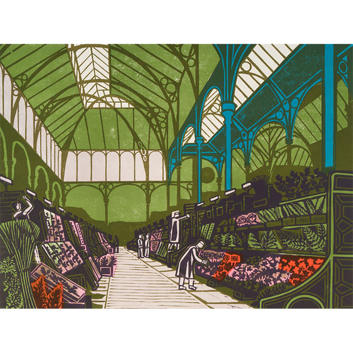 Covent Garden Flower Market By Edward Bawden