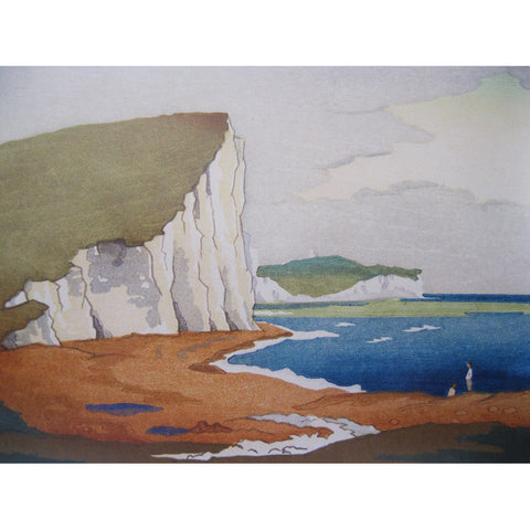 Cuckmere Haven 1929 By Eric Slater
