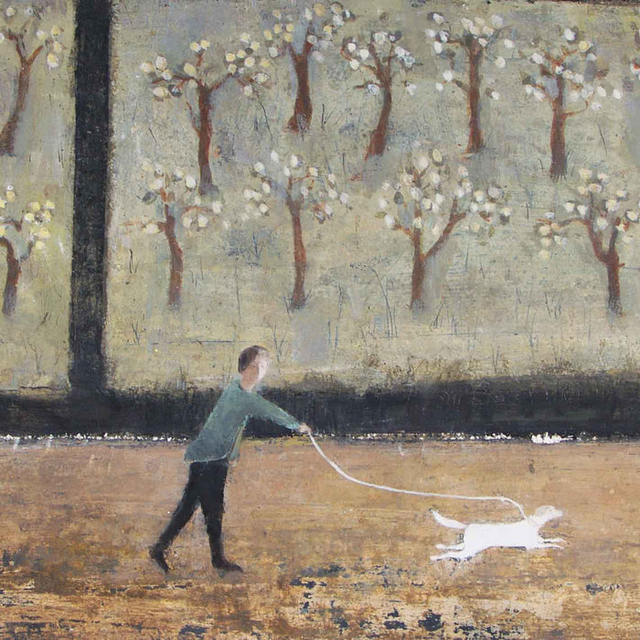 Somerset Orchard by David Brayne Greeting Card