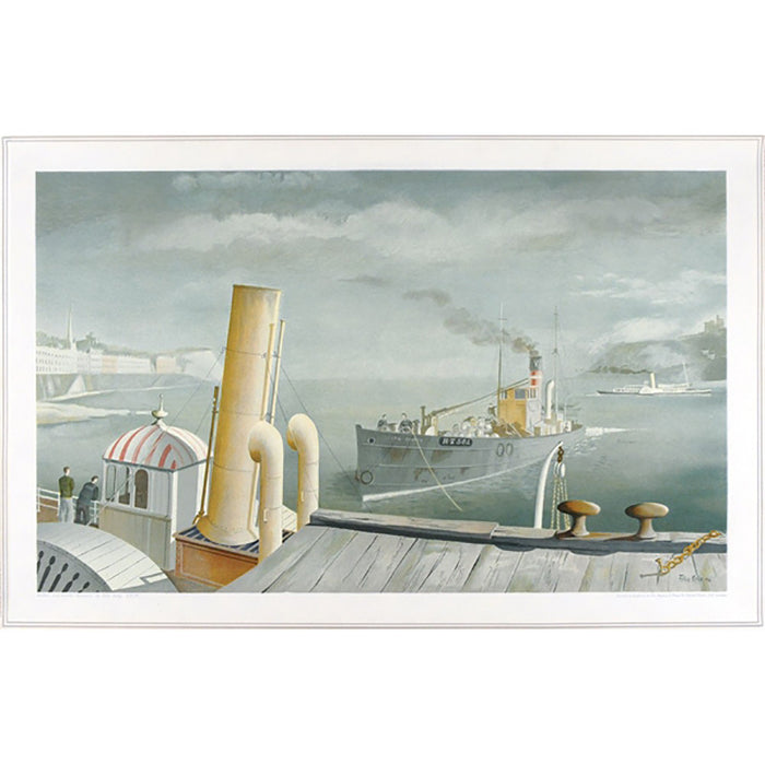 Drifter And Steamers | School Prints By Felix Kelly