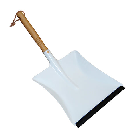 White Powder Coated Dust Pan