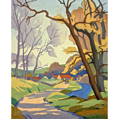 Early Spring 1932 By Eric Slater
