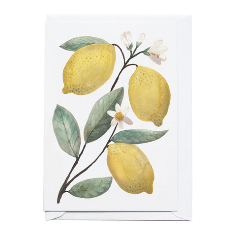 Lemon Branch Greeting Card