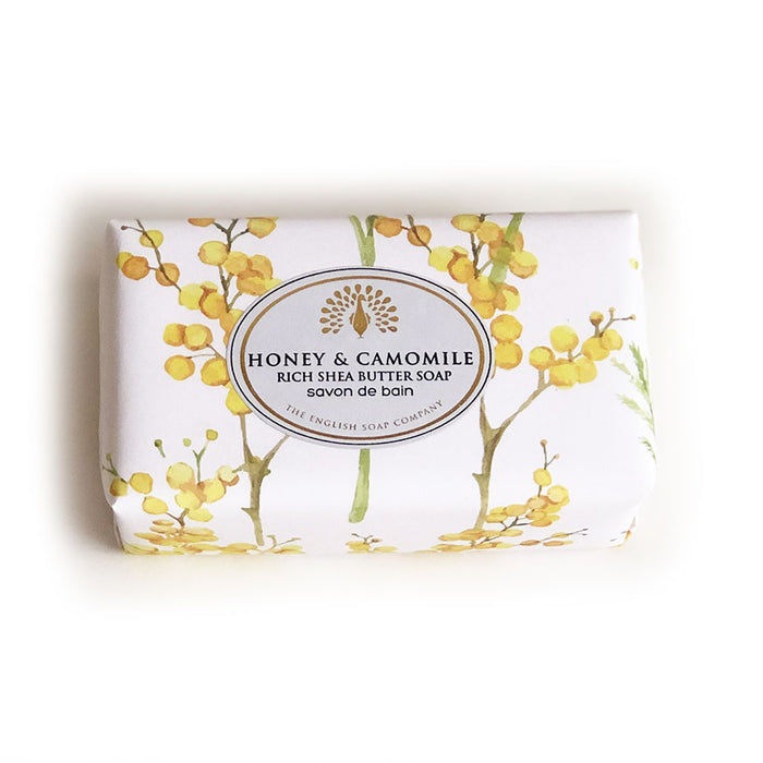 Honey and Camomile Vintage Wrapped Soap Bar