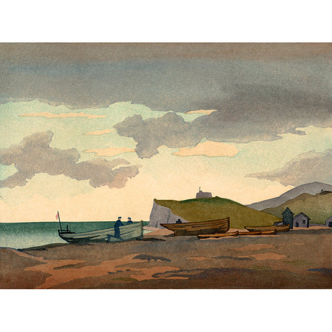 Eventide, Eastbourne 1936 By Eric Slater
