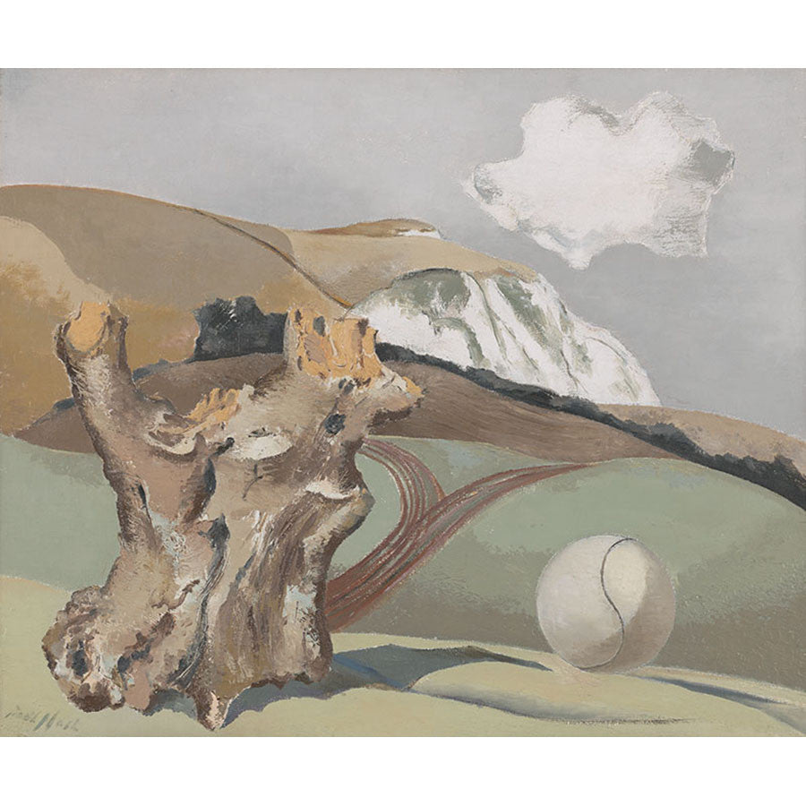 Event On The Downs By Paul Nash