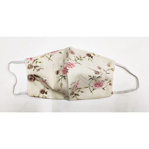 Cotton Face Covering | Rose Chintz