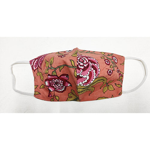 Reusable Cotton Face Covering | Damask