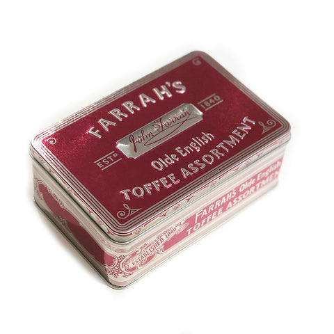 Farrah's of Harrogate Assorted Toffee in Large Tin
