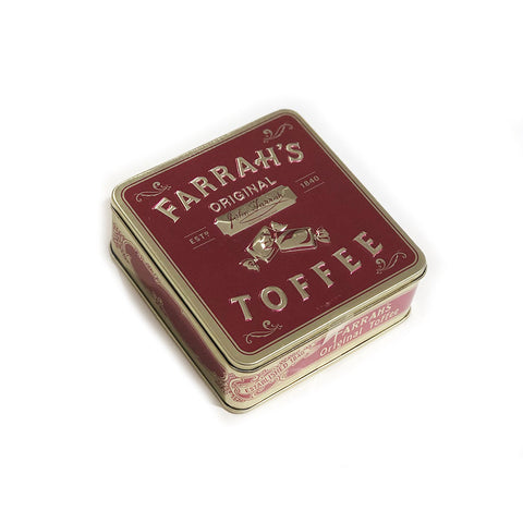 Farrah's of Harrogate Toffee in Tin