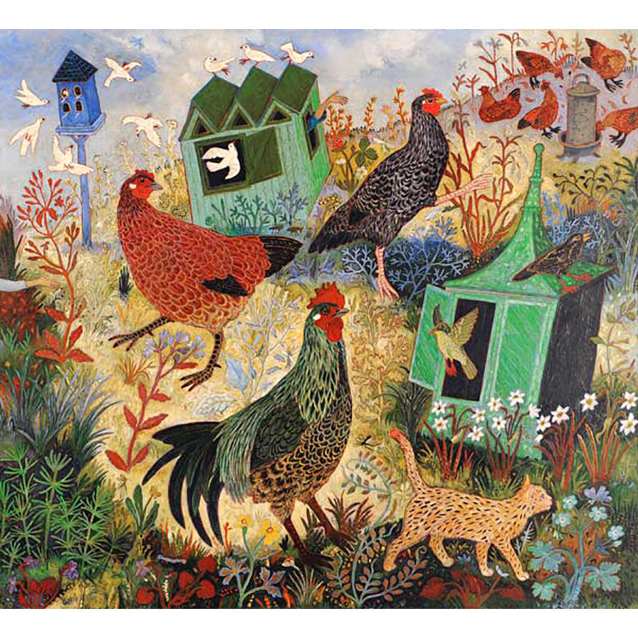 Feeding the Hens By Anna Pugh