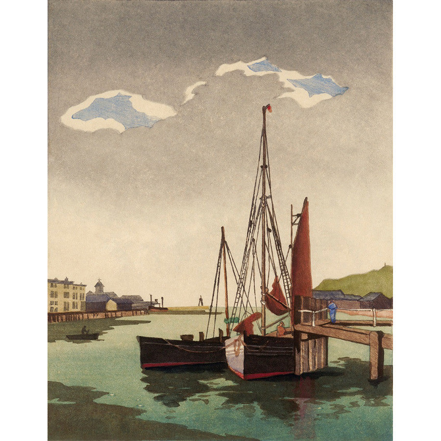 Fishing Boats, Newhaven 1935