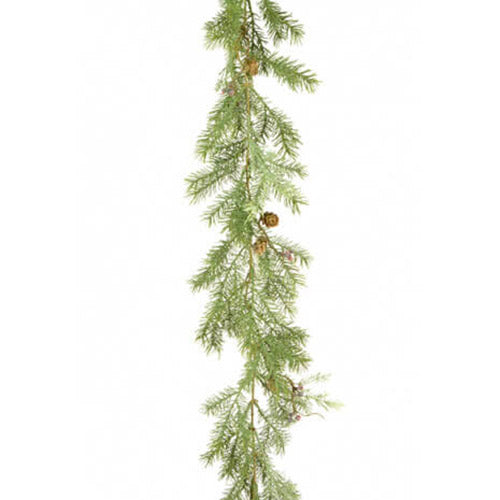 Faux Deluxe Pine Cypress Garland