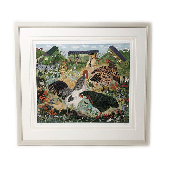 Framed Small Holding By Anna Pugh