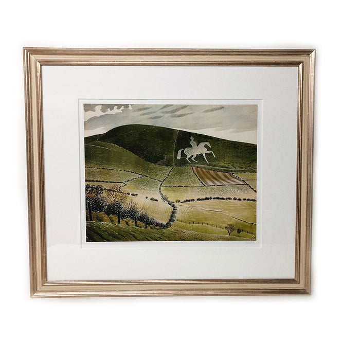 Framed Near Weymouth by Eric Ravilious