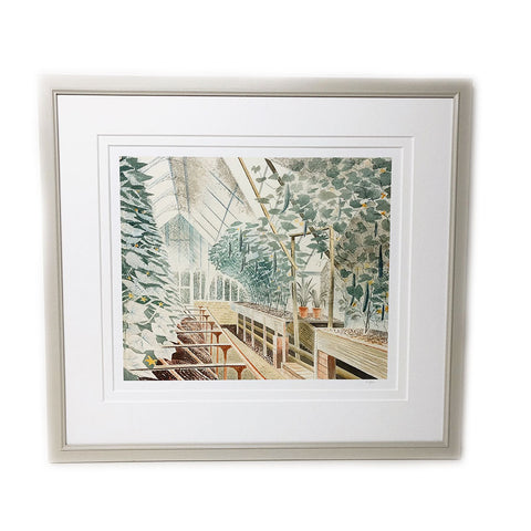 Framed Cucumber House By Eric Ravilious