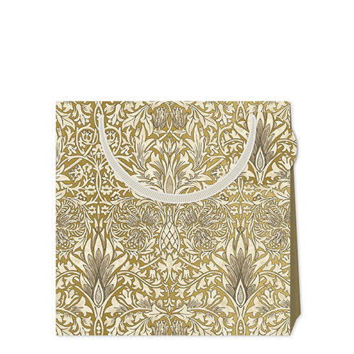 William Morris Medium Gift Bag in Golden Snakeshead