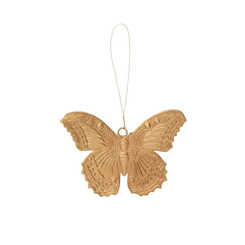 Hanging Golden Butterfly Decoration
