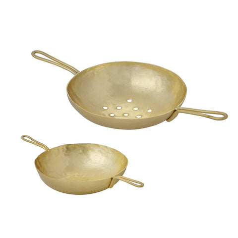 Golden Tea Strainer
