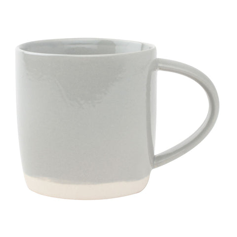 Shell Bisque Grey Mug
