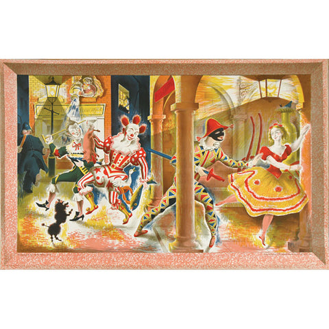 Harlequinade | School Prints By Clarke Hutton