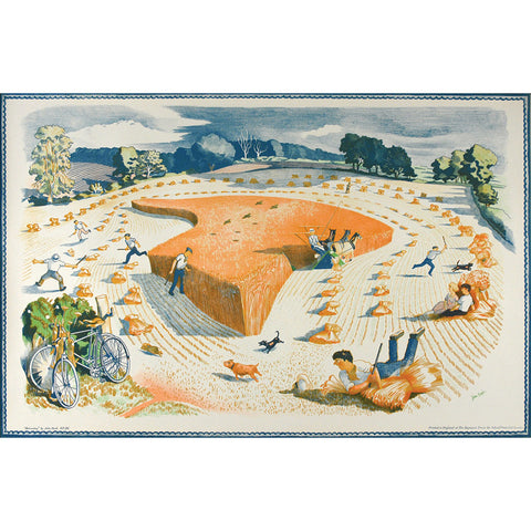 Harvesting | School Prints By John Nash