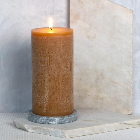 Honey Scented Pillar Candle 10 x 20 cm