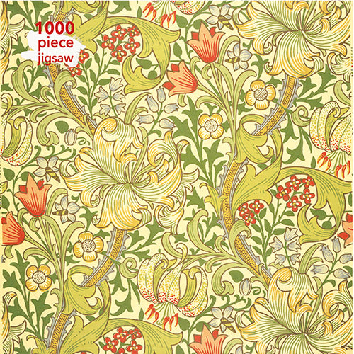 William Morris: Golden Lily 1000 Piece Jigsaw Puzzle