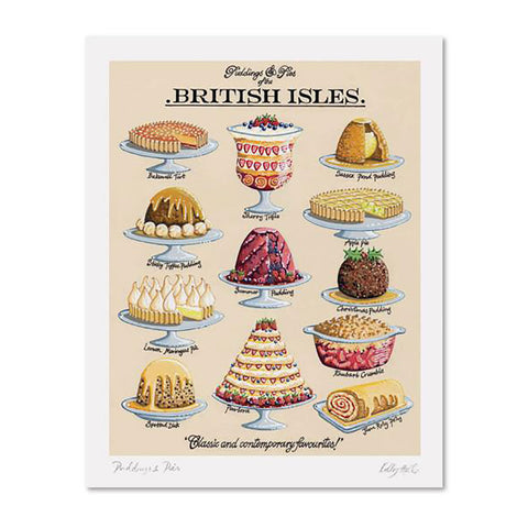Puddings And Pies By Kelly Hall