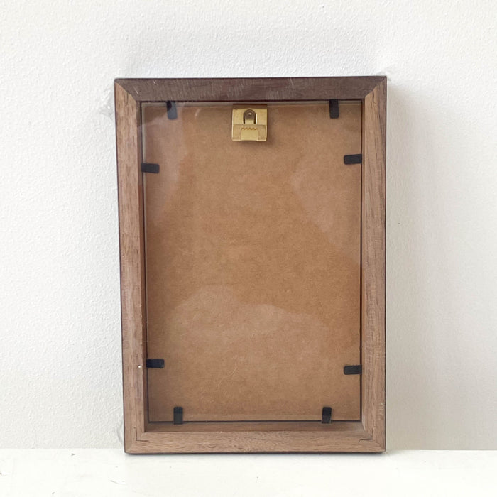 Walnut Photo Frame | 4 x 6''