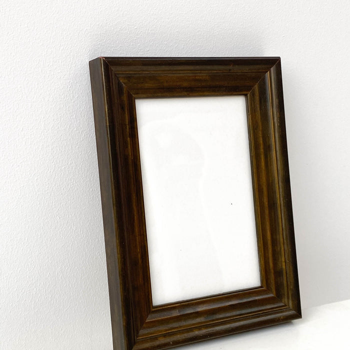 Dark Antique-Style Photo Frame | 4 x 6''