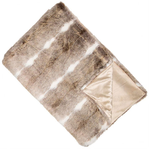 Kudo Faux Fur Throw