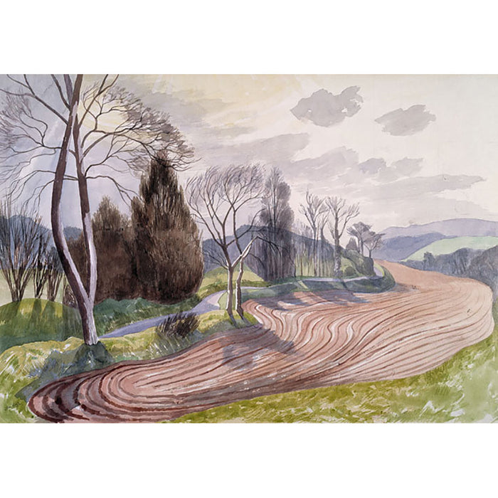Landscape Near Hadleigh By John Nash