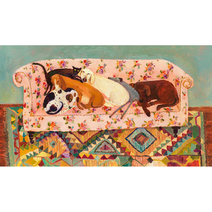 Let Sleeping Dogs Lie By Vanessa Cooper