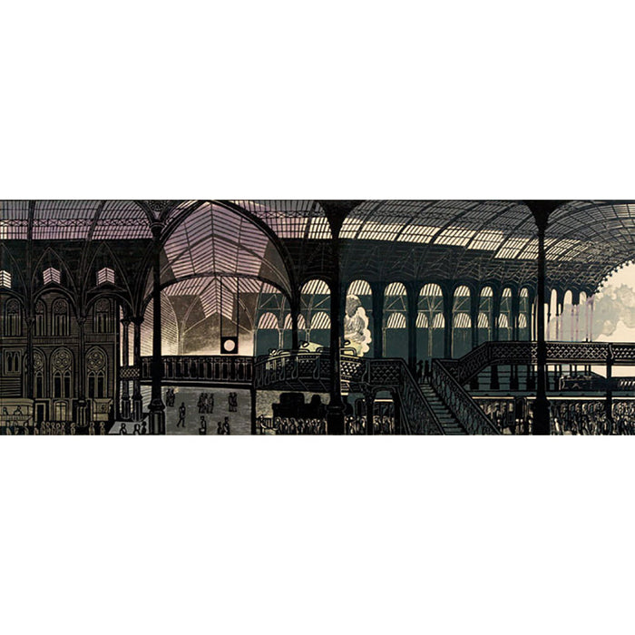 Liverpool Street Station By Edward Bawden