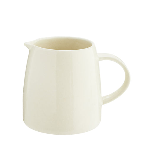 Handmade Stoneware Jug in Cream