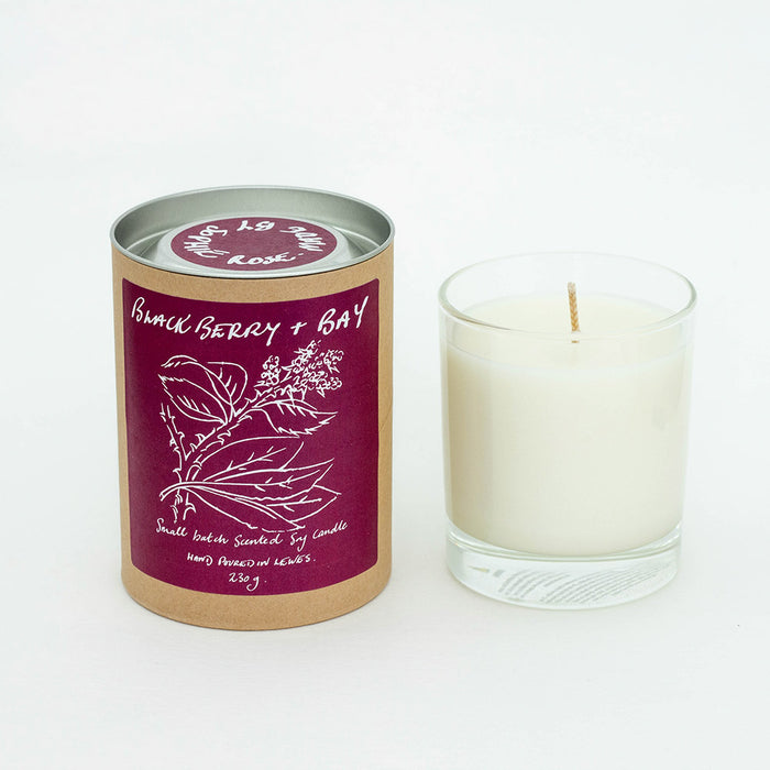 Blackberry + Bay Scented Soy Candle