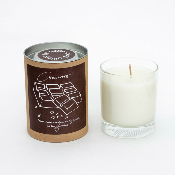 Chocolate Scented Soy Candle
