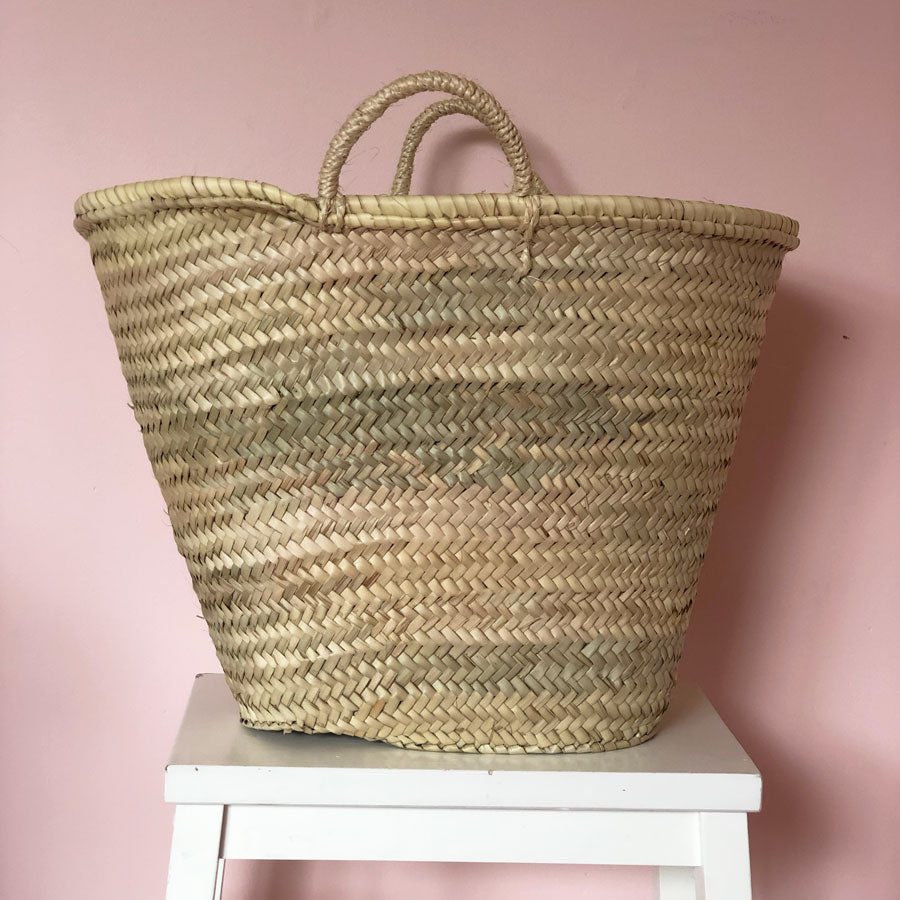 Madeline Hand Woven Basket in Maxi
