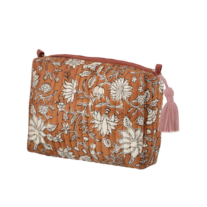 Block Printed Cotton Pouch
