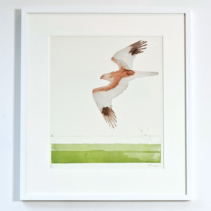 Marsh Harrier By Dame Elisabeth Frink