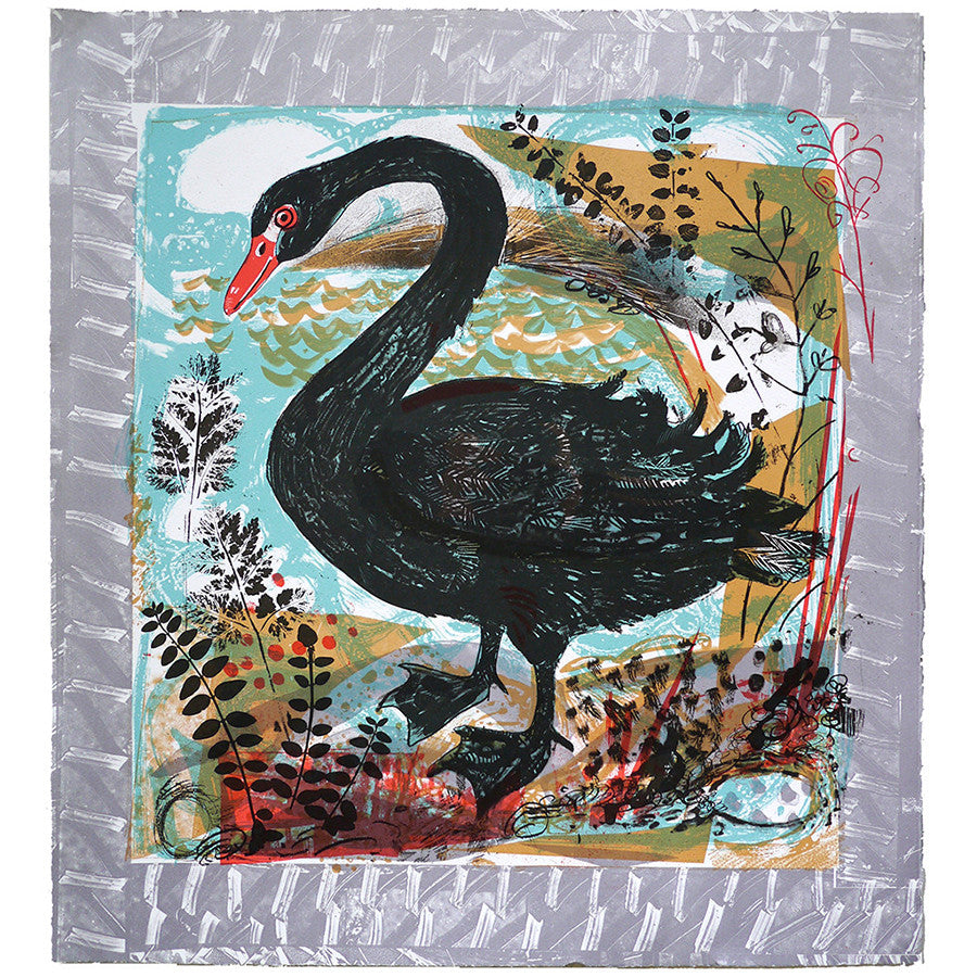 Menagerie Swan By Mark Hearld