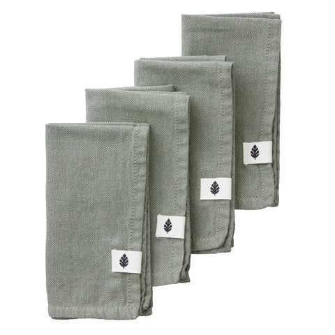 Set Of Four Saara Ivy Napkins