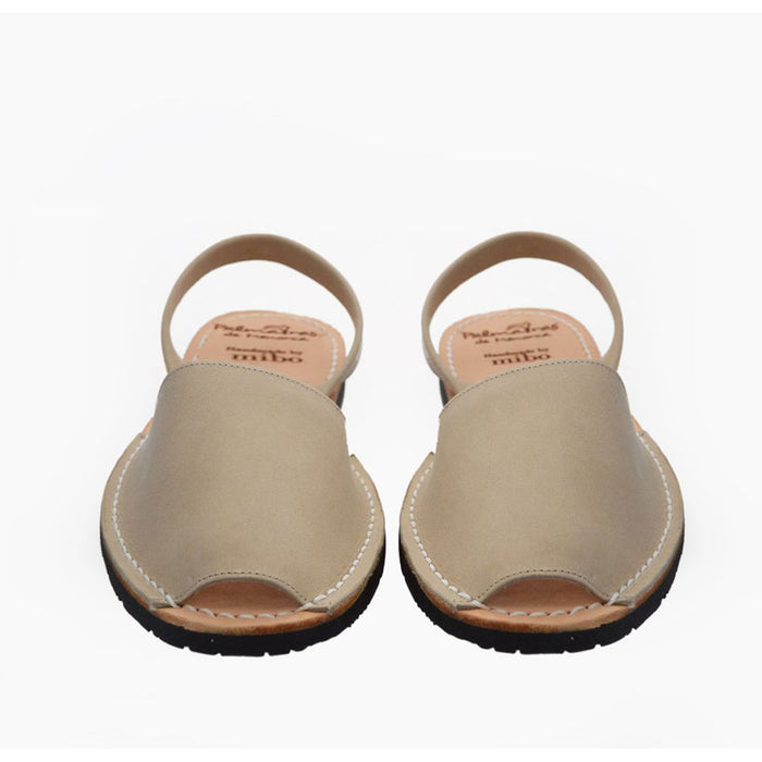 Palmaira Leather Sandal In Nude