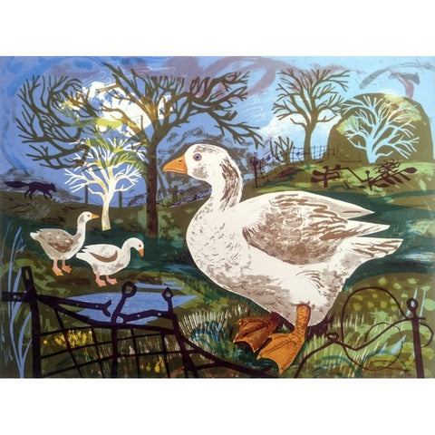 Orchard Goose By Mark Hearld